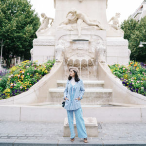 WHEN IN FRANCE: BLUE STRIPES