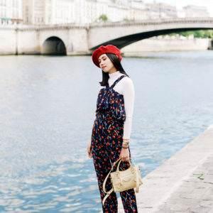 WHEN IN PARIS: POP OF RED