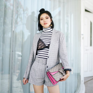 STREET STYLING WITH BRALETTE