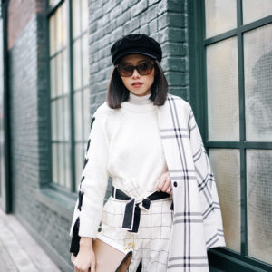 WHITE ON GINGHAM: HOW TO PULL OFF BOYISH STYLE WITHOUT LOOKING SLOPPY
